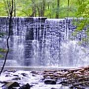 Waterfall In Gladwyne Poster
