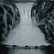 Waterfall Of Life Poster