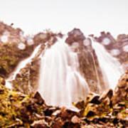 Waterfall Scenics  Poster