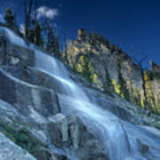Waterfall Trail Poster