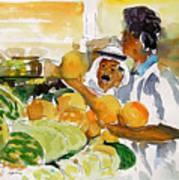 Watermelon Man Poster by Mike Shepley DA Edin