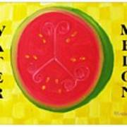 Watermelon Time Poster by Nathan Rodholm