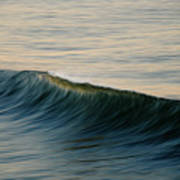 Wave Art Poster by Kelly Wade