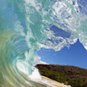 Wave Breaking Poster
