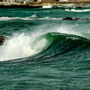 Wave Curl Poster