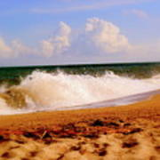 Waves Of Edisto  Poster