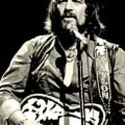 Waylon Jennings In Concert, C. 1976 Poster by Everett