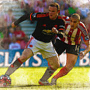 Wayne Rooney Is Marshalled Poster