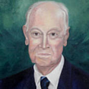 Wc Brown Commsioned Portrait Poster