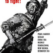 We Have Just Begun To Fight -- Ww2 Poster