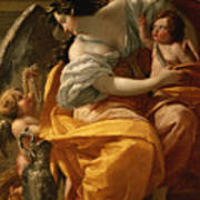 Wealth Poster by Simon Vouet