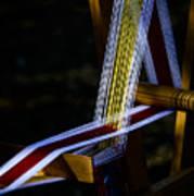 Weaving At Dawn Poster