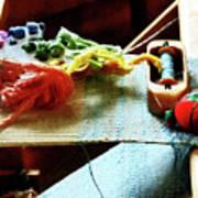 Weaving Supplies Poster