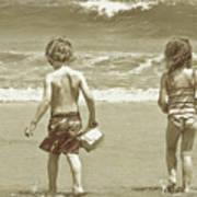 Wee Beachcombers Poster
