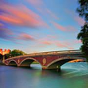 Weeks' Bridge Poster by Rick Berk
