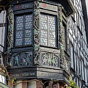 Wein Window Poster
