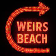 Weirs Beach Icon Poster