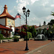 Welcome Center At Frankenmuth Poster