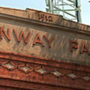 Welcome To Fenway Park Poster
