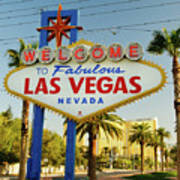 Welcome To Las Vegas Poster