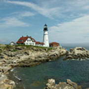 Welcome To Portland Head Light Poster