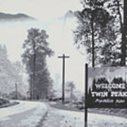 Welcome To Twin Peaks Poster
