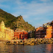 Welcome To Vernazza Poster