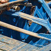 Well Used Fishing Boat Poster