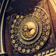Wells Cathedral Astronomical Clock  Poster