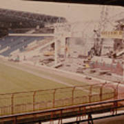West Bromwich Albion - The Hawthorns - Halfords Lane West Stand 2 - Construction - 1980 Poster