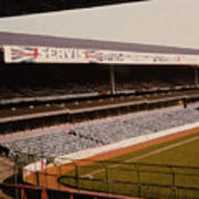 West Bromwich Albion - The Hawthorns - Rainbow Stand 1 - 1980s Poster