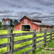 West Georgia Barn Poster