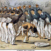 West Point Cartoon, 1880 Poster