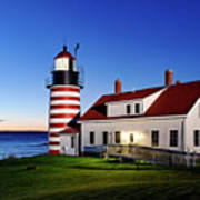 West Quoddy Lighthouse Poster