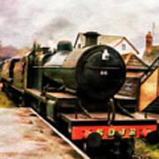 West Somerset Railways Train. Poster