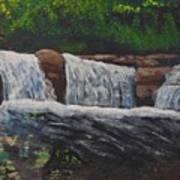 West Virgina Water Falls Poster