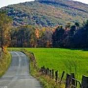 West Virginia Autum On Sandy Ridge Poster