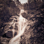 West Waterfall Poster