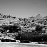 Western Arizona Mountains Poster