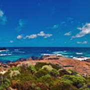 Western Australia Beach Panorama Poster