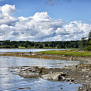 Western Bay - Oldhouse Cove Near Trenton Maine Poster