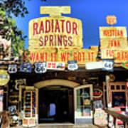 Western Junk Shop California Adventure  Poster