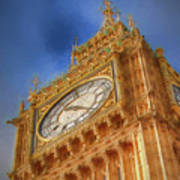 Westminster Clock Tower Poster
