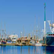 Westport Docks Color Poster