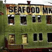 Westport Washington Seafood Market Poster