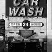 Westside Highway Car Wash Nyc Poster