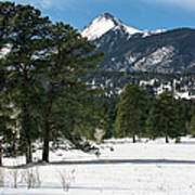 Wet Mountain Valley In Winter Poster