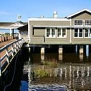 Wharf At Jekyll Island Poster