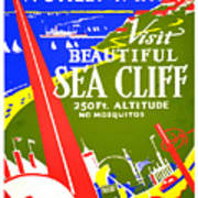 While In Worlds Fair, Visit Sea Cliff Poster