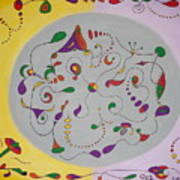 Whimsical Circle Poster